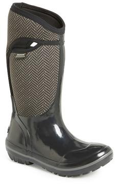 Bogs Plimsoll Herringbone Waterproof Boot