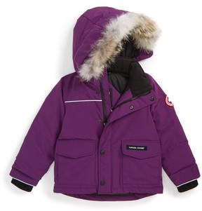 Canada Goose Toddler 'Lynx' Down Parka With Genuine Coyote Fur Trim