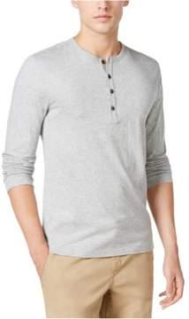 Michael Kors Jasper Speckled Henley Shirt