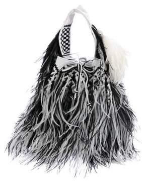 Givenchy Knit Colombian Mochila Bag
