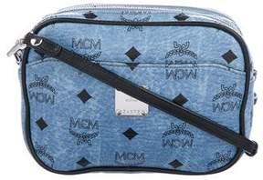 MCM Visetos Small Camera Crossbody Bag