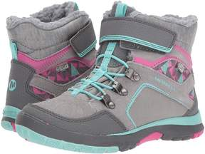 Merrell Moab FST Polar Mid A/C Waterproof Girls Shoes