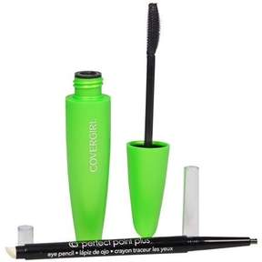 CoverGirl Clump Crusher Mascara & Perfect Point Pencil Black
