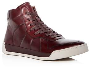 John Varvatos Men's Remy Leather High Top Sneakers