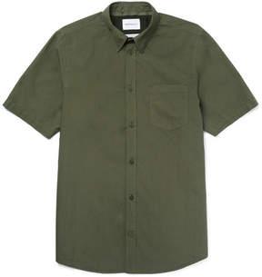 Norse Projects Anton Slim-Fit Button-Down Collar Cotton-Poplin Shirt