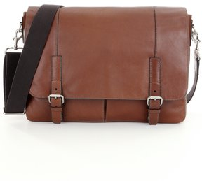 Fossil Graham Leather Laptop Messenger Bag
