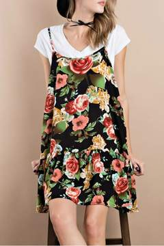 Easel Printed Challie Dress
