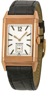 Jaeger-LeCoultre Jaeger Lecoultre Grande Reverso Ultra Thin Duoface GMT 18kt Pink Gold Men's Watch