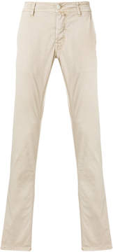 Jacob Cohen straight-leg chino trousers