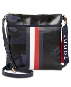 Tommy Hilfiger Raleigh Camo-Print Coated Crossbody