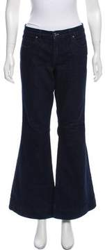 Blank NYC Mid-Rise Wide-Leg Jeans