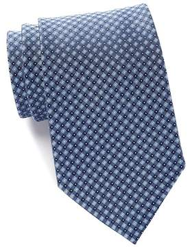 Kenneth Cole Reaction Micro Grid Silk Tie