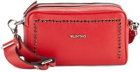 Mario Valentino Valentino by Women's Mila Rhinestone Stud Leather Crossbody
