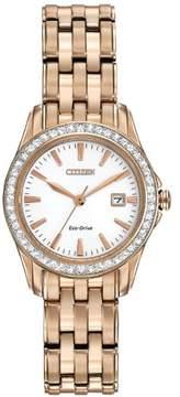 Citizen Eco-Drive EW1903-52A Rose Gold/White Analog Quartz Women's Watch