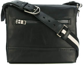 Bally zipped messenger bag