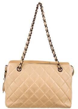 Chanel Quilted Lambskin Shoulder Bag