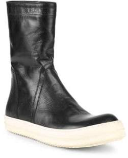 Rick Owens Classic Leather Boots