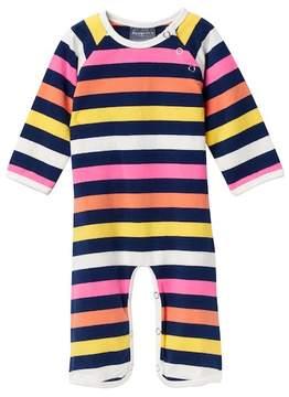 Toobydoo Sadie Striped Jumpsuit (Baby Girls)