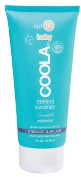 Coola Suncare Unscented Baby Mineral Moisturizer Spf 50