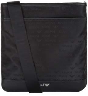 Armani Jeans Medium Stash Logo Motif Shoulder Bag