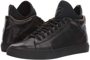 a. testoni Mid Cut Sneaker Men's Lace up casual Shoes