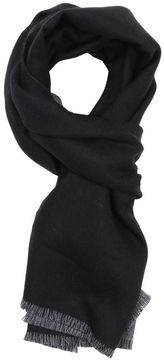 Gucci Scarf 34 X 175 Cm Scarf In Pure Reversible Wool With Monogram