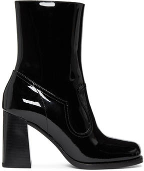 Marc Jacobs Black Patent Ross Boots