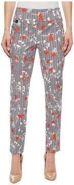 Saint Tropez Lisette L Montreal Print Ankle Pants Women's Casual Pants