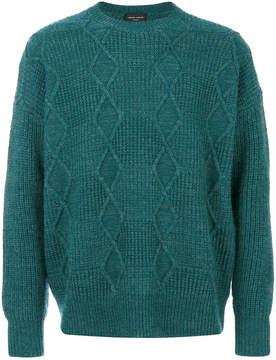 Roberto Collina diamond knit jumper