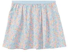 Ralph Lauren Little Girl's Floral-Print Cotton Skirt