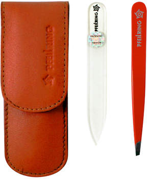 Pfeilring Nappa Leather Manicure Set - Orange by 2pcs Manicure Set)