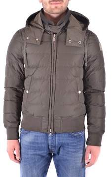 Dekker Men's Grey Cotton Down Jacket.