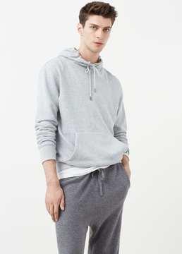 Mango Outlet Kangaroo pocket hoodie