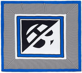 Henri Bendel Bendel Graphic Silk Square Scarf