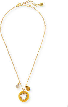 Sequin 22K Gold-Plated Talisman Pendant Necklace