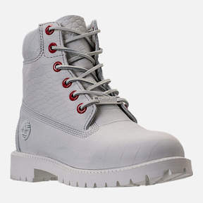 Timberland Kids' Grade School White Serpent 6 Inch Classic Boots