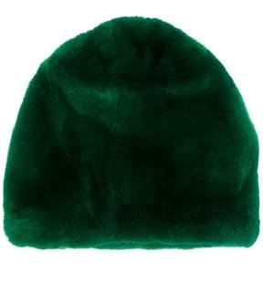 Marni fur beanie hat