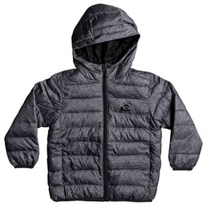 Quiksilver Boy's Scaly Water-Resistant Hooded Puffer Jacket