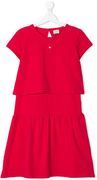 Emporio Armani Kids TEEN short sleeve dress