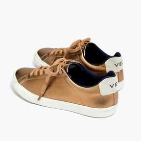 Madewell VejaTM Esplar Low Sneakers in Metallic Bronze