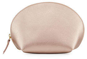 Neiman Marcus Large Saffiano Leather Dome Case