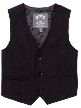 Appaman Pin Stripe Tailored Vest (Toddler, Little Boysm & Big Boys)