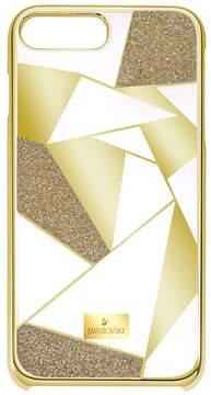 Swarovski Heroism Smartphone Case with Bumper, iPhone 8 Plus, Gold Tone