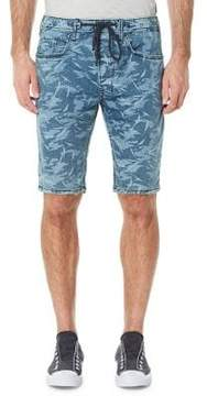 Buffalo David Bitton Parker-X Printed Shorts