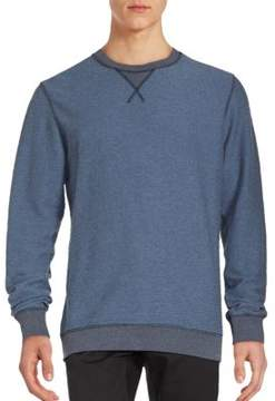 Salvatore Ferragamo Ribbed Wool & Cashmere-Blend Sweatshirt