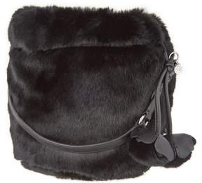 Vince Camuto Faux Fur Drawstring Bag - Mari