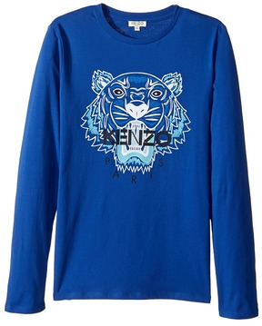 Kenzo Tiger Long Sleeves Tee Shirt Boy's T Shirt