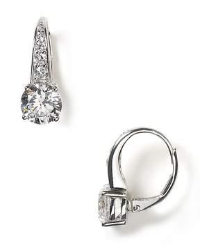 Crislu Round Leverback Earrings