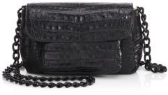Nancy Gonzalez Mini Croc Crossbody Bag