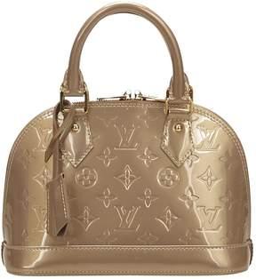 Louis Vuitton Alma patent leather handbag